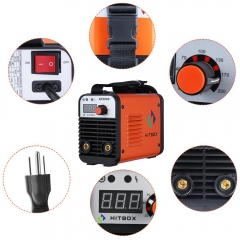 HITBOX Arc Welder 110V 220V AT2000 Inverter Arc Welder Dual Voltage IGBT Technology New Arrival MMA Welder