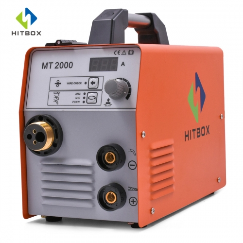 HITBOX Mig Welder MIG ARC TIG Functional Welding Gas Gasless Welder Full Accessories Smart Control MIG MAG Machine