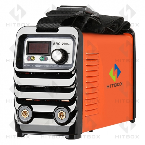 HITBOX Arc Welders Double Voltage 110 220V Welding Tools Machines With Accessories Change Over Plug