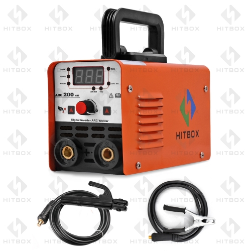 HITBOX Arc Welder MMA Stick ARC-200N Lift Tig Function Update Arc Welding Machine Anti-Stick 1.6-3.2mm Rods 220V VRD Protection